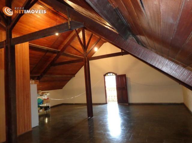 Casa à venda com 4 dormitórios em Alípio de melo, Belo horizonte cod:421325