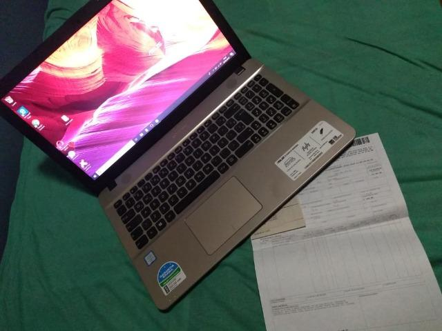 c5031caa8 Notebook Asus Vivobook Max X541UA-GO1986T Intel Core i3 4GB 1TB Tela LED 15
