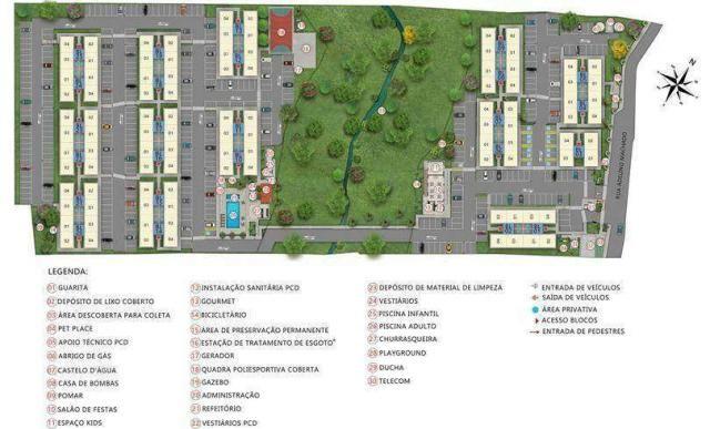Residencial Flores do Verão - Apartamento 2 quartos em Biguaçu, SC - ID4063 - Foto 8