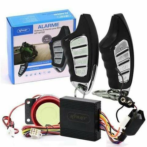 Knup KP-MT02 - Sistema de Alarme para Moto