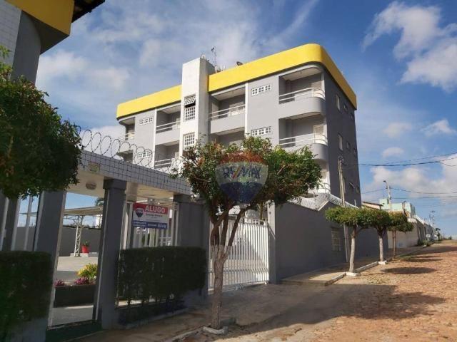 Apartamento com 3 dormitórios para alugar, 105 m² por R$ 700/mês - Lagoa Seca - Juazeiro d