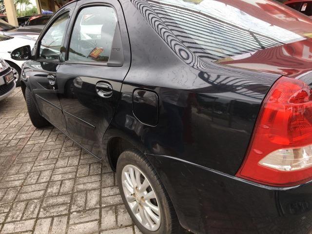 """A2 Toyota Etios Sedan 1.5 Flex """" Único Dono """" Todo Original - 2014 - Foto 6"""