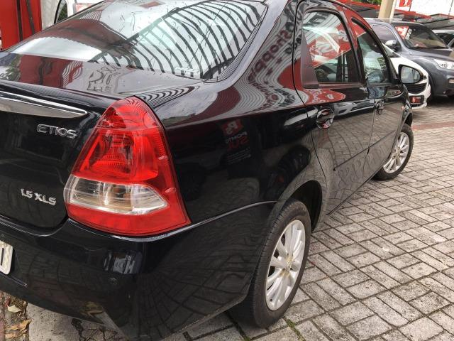 """A2 Toyota Etios Sedan 1.5 Flex """" Único Dono """" Todo Original - 2014 - Foto 5"""