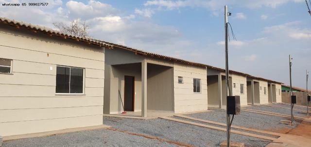 Casa para Venda em Várzea Grande, Jacarandá, 2 dormitórios, 1 banheiro, 2 vagas - Foto 8