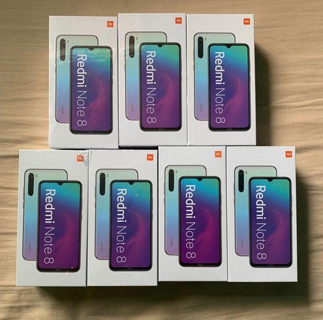 Xiaomi Note 8 64GB 4gb RAM branco azul e preto lacrados originais