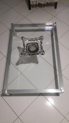 Mesa de centro tampo de vidro  - Foto 2