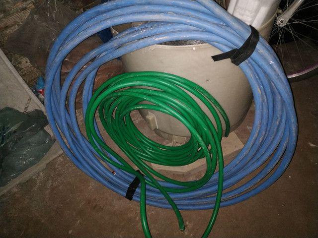 Lote de cabo fio elétrico 150mm e 70mm