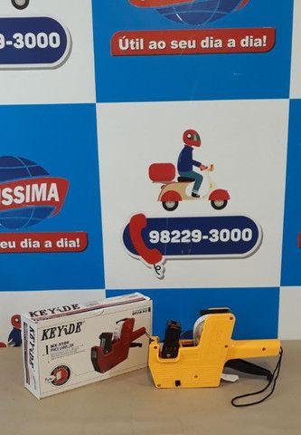 Etiquetadora de Preço c/8 Dígitos ? Entrega grátis - Foto 4