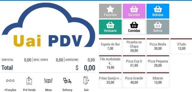 PDV Com Cardápio Digital Integrado - Foto 4