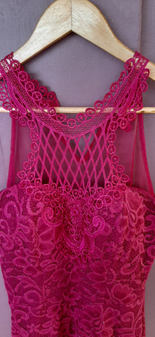 Vestido de festa G Rosa/Pink