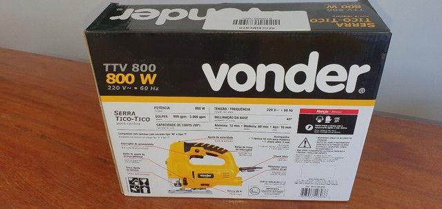 Serra tico tico 800 watts capacidade de corte 80 mm - TTV800 - Vonder - Foto 5