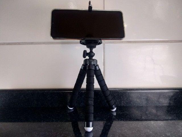 Mini tripé Barato Para Celular e Câmera