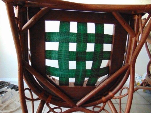 Poltrona especial em madeira trabalhada - Foto 3