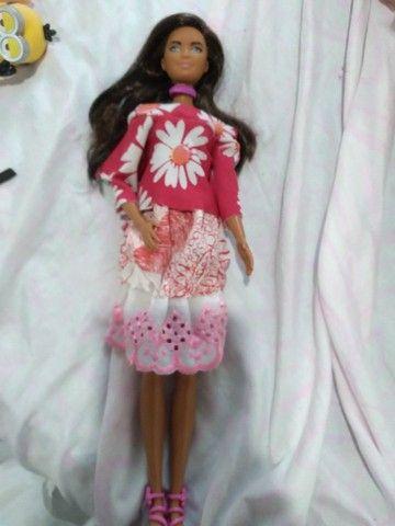Boneca barbie  negra - Foto 3