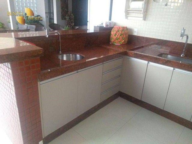 Casa com 5 dormitórios à venda, 490 m² por R$ 2.200.000,00 - Condomínio Florais Cuiabá Res - Foto 11