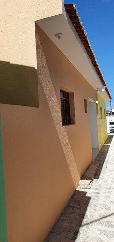 Casa nova no Cristo. 2 quartos sendo 1 suíte. R$ 145 mil com ITBI e cartório