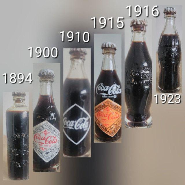 Coleção de mini garrafinha Coca-Cola - Foto 2