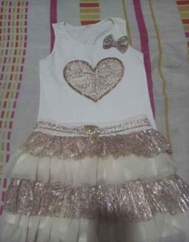 Conjunto infantil (saia e blusa) - Foto 2