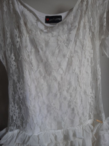 Vestido infantil perfumaria renda  - Foto 3