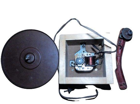 Antigas peças Toca Disco ( Para Colecionador ou Retirada de peças ) - Foto 5