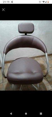 Cadeira para cabeleireiro  - Foto 2