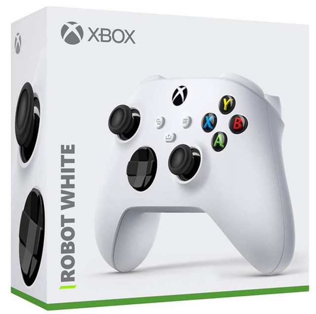 Controle Xbox Series Robot White