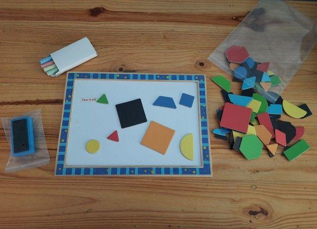 Quebra-cabeça formas geométricas  - Foto 4