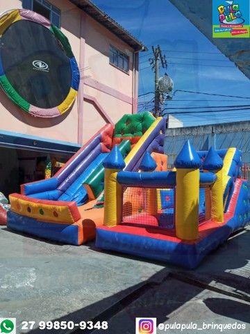 Aluguel de brinquedos infláveis - Aproveite e garanta diversão para sua festa - Foto 6