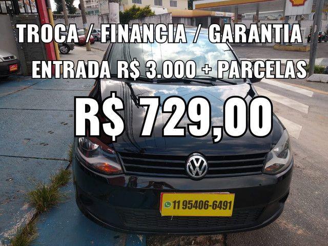 Fox 1.6 , Entrada R$ 3.000 + parcelas R$ 729,00