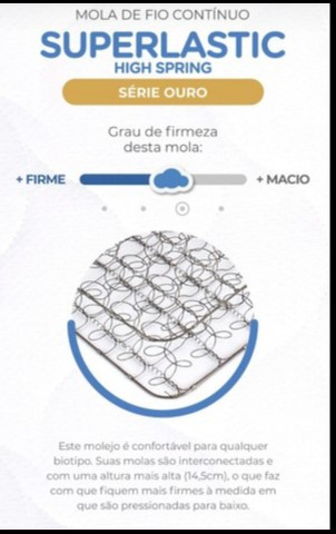 Conjunto BOX Marseille Com Molas Superlastic (ENTREGA GRÁTIS) - Foto 2