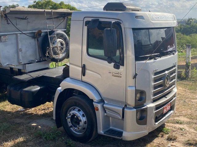 Caminhão caçamba 24250, ano 2009/2009. Preço 180.000 mil - Foto 11