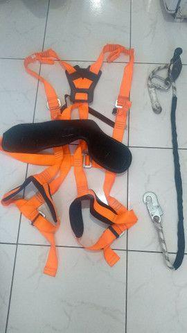 Cinto paraquedista + talabarte - Foto 2