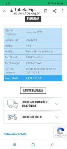 FIESTA 1.6 8V COMPLETO CARRO EM EXCELENTE ESTADO  - Foto 10