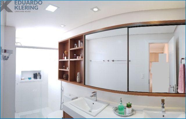 Apartamento com 3 dormitórios, 2 vagas, sacada com churrasqueira, infra completa, Dubai - Foto 7