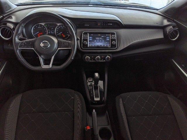 Nissan Kicks 1.6 16V Flexstart SV 4P Xtronic 19/20 Preto! - Foto 8