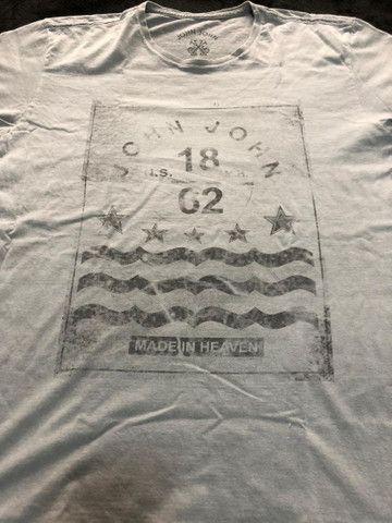 Camiseta John John Cinza - Foto 3