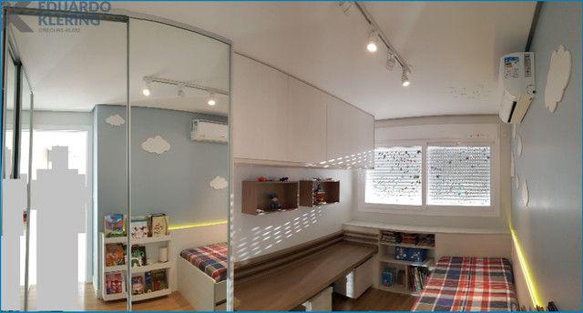 Apartamento com 3 dormitórios, 2 vagas, sacada com churrasqueira, infra completa, Dubai - Foto 9