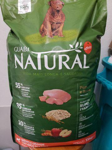 Ração Guabi Natural Peru e aves ADULTO LIGHT médio e grande porte 15kg