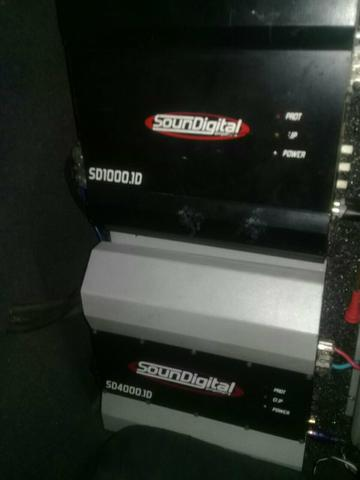 Amplificador SounDigital 4.k $: 850