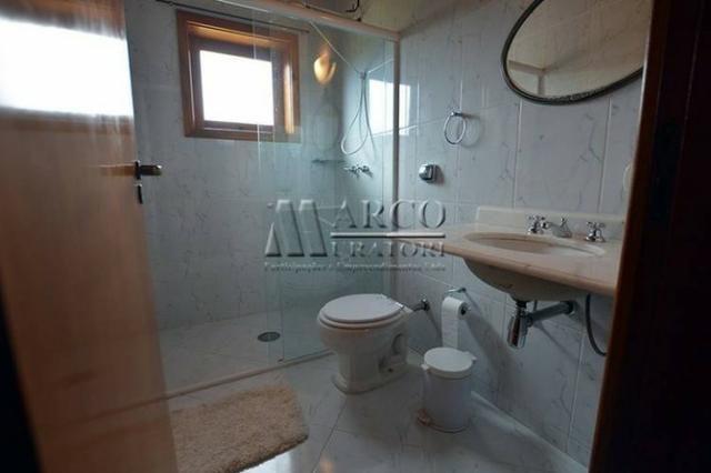 Casa em condomínio , 3 dorm + 3 quartos externos, linda vista com churrasqueira - Foto 16