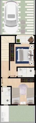 Lançamento de Casas duplex em Condomínio fechado - Foto 12