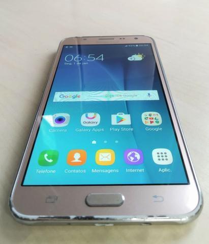 Samsung Galaxy J7 Duos SM-J700M Original Dourado - Foto 3