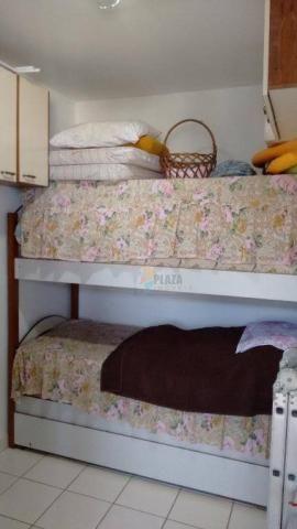 Cobertura com 3 dormitórios para alugar, 256 m² por r$ 5.000/mês - canto do forte - praia  - Foto 18