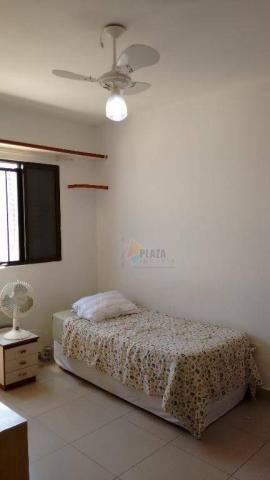 Cobertura com 3 dormitórios para alugar, 256 m² por r$ 5.000/mês - canto do forte - praia  - Foto 13
