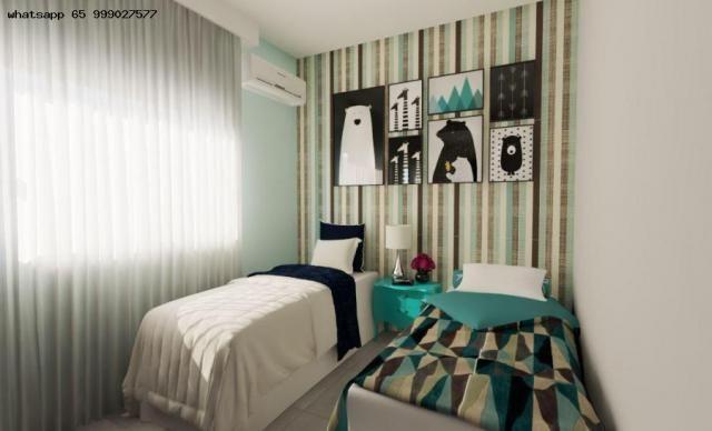 Casa para Venda em Várzea Grande, Nova Fronteira, 2 dormitórios, 1 banheiro, 1 vaga - Foto 3