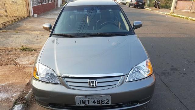 Honda Civic LX 1.7 2003 - Automático - Foto 7