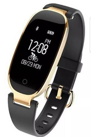 S3 moda feminina a prova d'água smarte watch