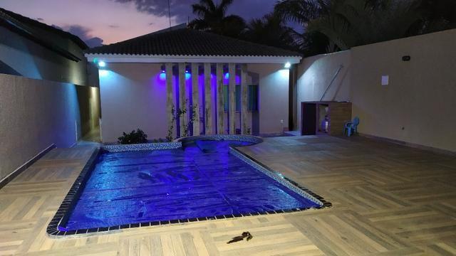 Linda casa, cond fechado, Vicente Pires, Rua 8, churrasq, piscina aquecida, 4qts, 4ban - Foto 19