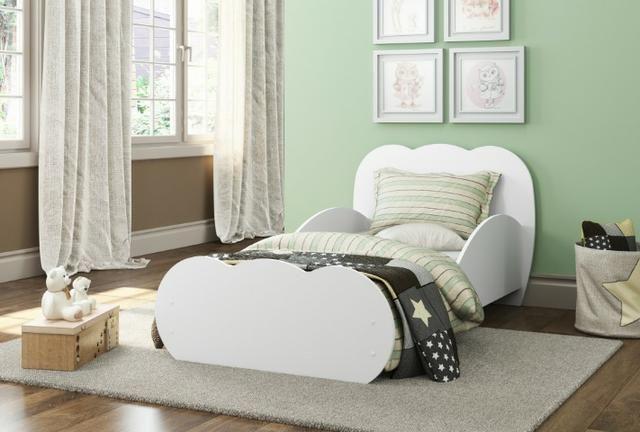 Mini cama branca. 006