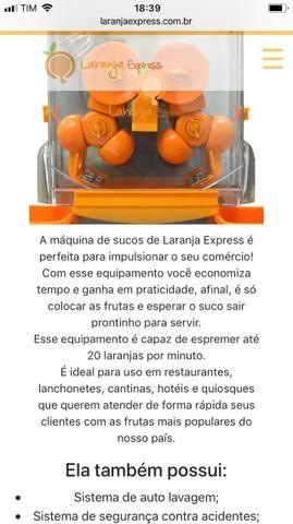 0367fa4c3 Máquina profissional de Sucos Cítricos - Máquinas para produção ...